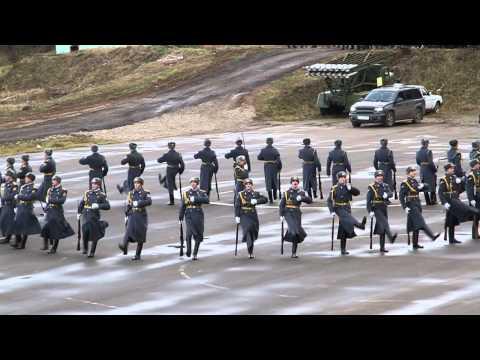 Выступление роты почетного караула ВВ МВД РФ