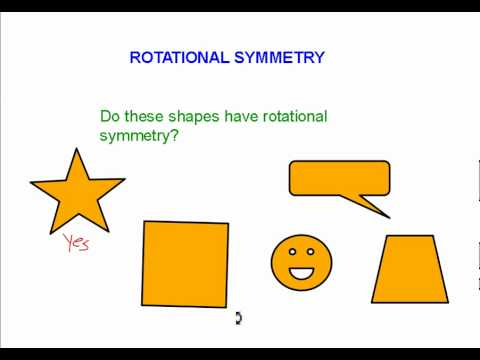 Grade 6 math #11. 9, line and rotational symmetry youtube.