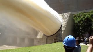 Emergency water discharge from the dam TOP 5  -=HD=-