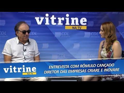 Imagem História das Lojas Criare e Inovare Design em Móveis - VITRINE NA TV 11/09/2018