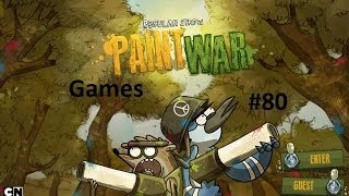 Games: Regular Show - Paint War