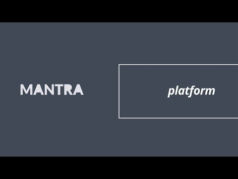MANTRA Smart Data Management Platform - OVERVIEW