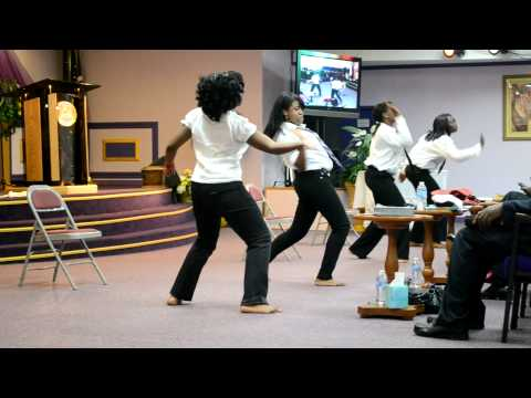 Dance to Cece Winans- Hallelujah