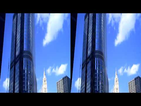 Chicago Skyline 3D