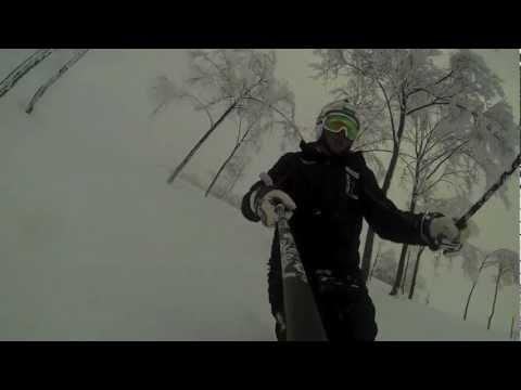 Freeski monte alpet lollo with gopro hero 3 black