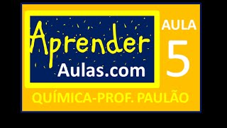 QU�MICA - AULA 5 - PARTE 2 - ATOM�STICA:GEOMETRIA MOLECULAR