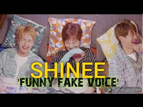 SHINee Funny 'Fake Voice' 😂 [Eng Sub]