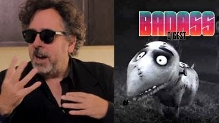 Tim Burton Frankenweenie Interview - 1984 & 2012 Films, Monster Movies and Makeup