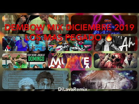 Dembow Mix Diciembre 2019 - Estrenos Los Más Pegados 🔥- DjLavaRemix