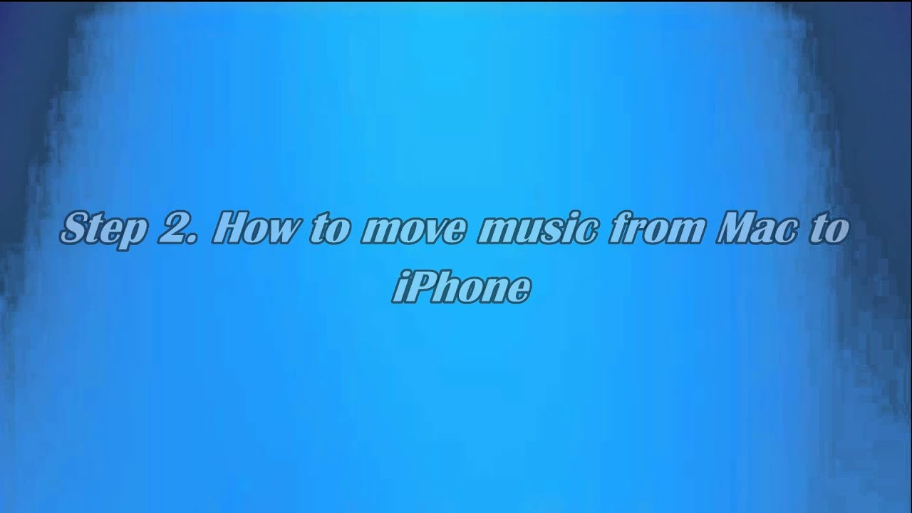 how to transfer music from iphone to mac how to transfer from mac to iphone without itunes 7513