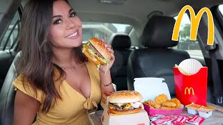 McDonalds Mukbang! Big Mac, Quarter Pounder, Chicken Nuggets & Fries!!
