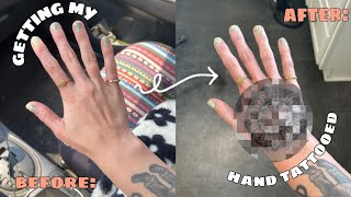weekly vlog: deep cleaning my apartment & getting my HAND tattooed!!!