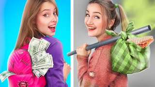Rich Family vs Poor Family / Funny Situations