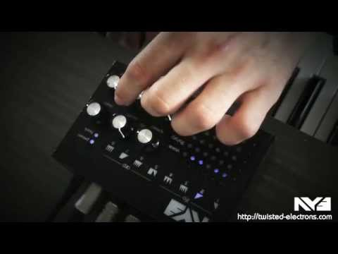 Twisted Electrons AY3 Chiptune Synth demo