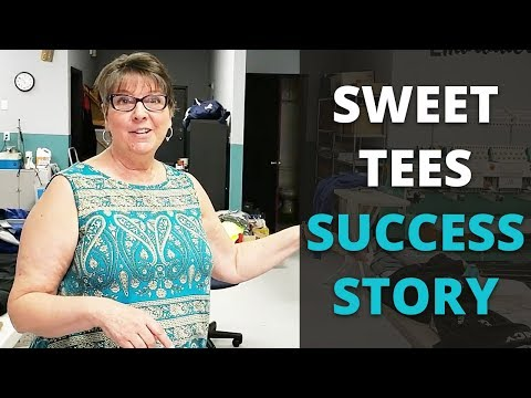 Leanne from Sweet Tees in Lakeland, Florida is one of over 30,000 people that we've started in or helped grow a custom t-shirt business. In this case, it was grown by adding a Digital HeatFX T-Shirt Transfer system to a business she bought - to move her and her kids from Maryland to Florida. She made the move about 3.5 years ago by purchasing Lake Gibson Tees, an established business, then buying and selling equipment to fit her vision of the business she wanted.