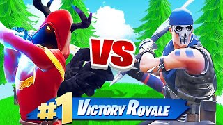 SWORD FIGHT for the THRONE in Fortnite Battle Royale