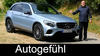 All-new Mercedes GLC FULL REVIEW test driven GLC 250 4MATIC 2016 - Autogefühl