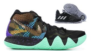 WHICH DO YOU LIKE BETTER?  NIKE KYRIE 4 VS ADIDAS HARDEN VOL 3