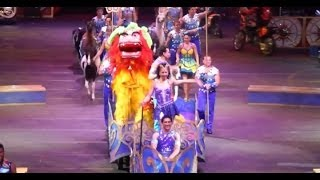"""""""Legends"""" opening - Ringling Bros. and Barnum & Bailey Circus 2014"""