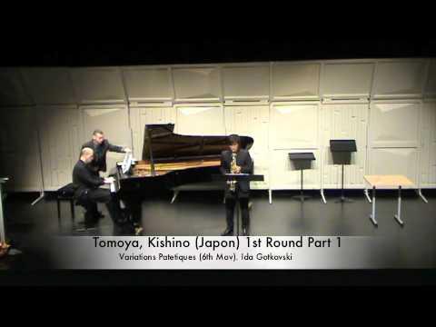 Tomoya, Kishino (Japon) 1st Round Part 1.m4v