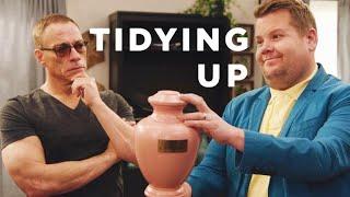 Tidying Up w/ Jean-Claude Van Damme & James Corden