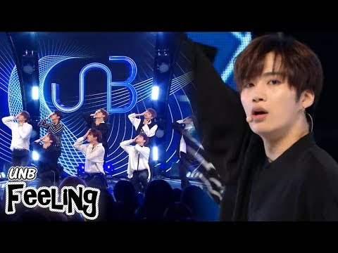 [HOT] UNB - Feeling, 유앤비 - 감각 Show Music core 20180428