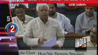 Lalu Prasad Yadav Lets Out 'Dogs' On Salary Sceptics - India TV