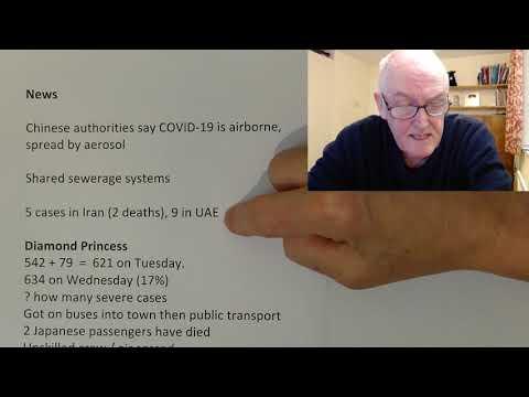 COVID - 19 Thursday 20 Feb