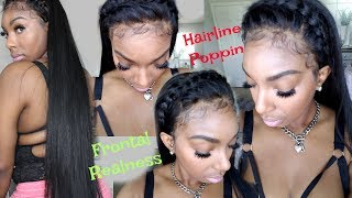 Best Lace Glue Ever  Non Toxic Bold Hold Creme and Laying Baby Hair Tutorial   KennySweets