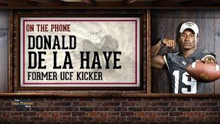 Former UCF Kicker Donald De La Haye on The Dan Patrick Show | Full Interview | 8/02/2017
