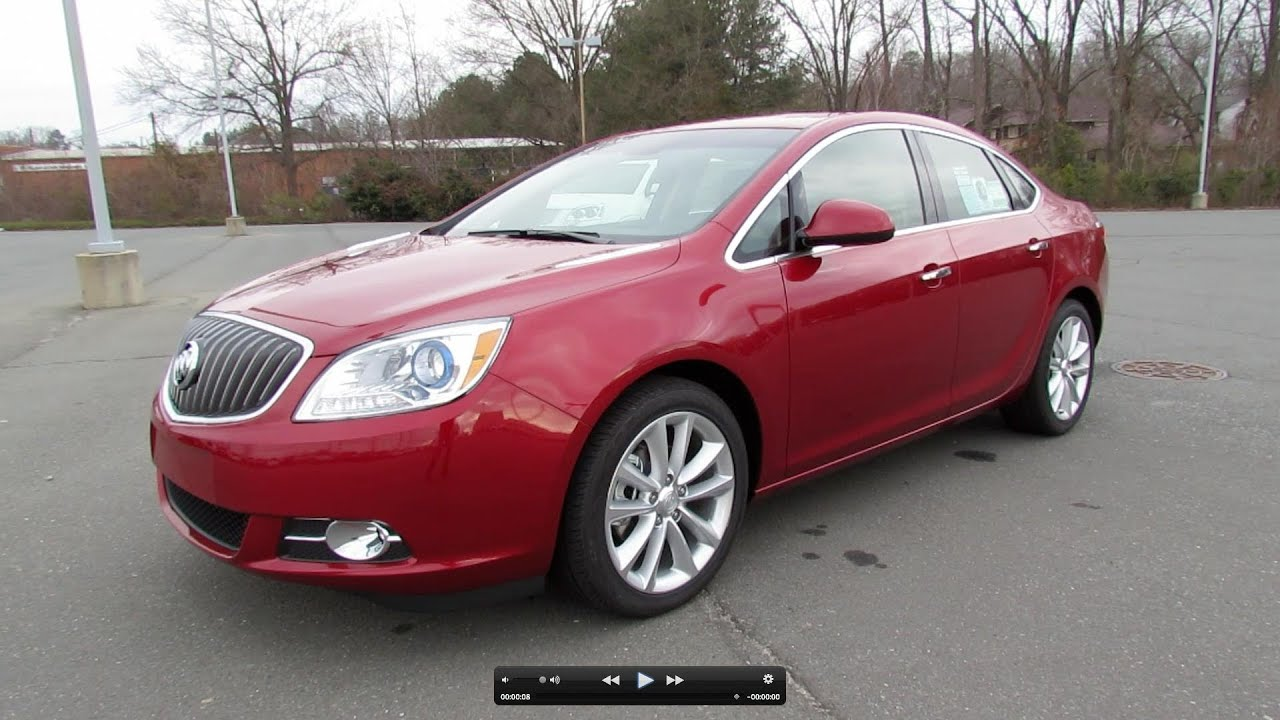 2012 Buick Verano Start Up, Exhaust, and In Depth Tour - YouTube