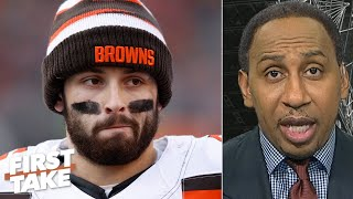 Baker Mayfield is not blameless in the Browns firing Freddie Kitchens - Stephen A.   First Take
