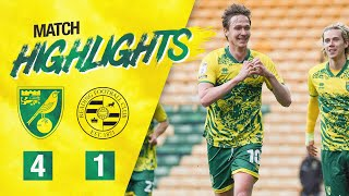 HIGHLIGHTS | Norwich City 4-1 Reading