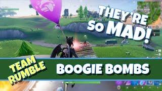 Trolling Enemies with Boogie Bombs in Fortnite!