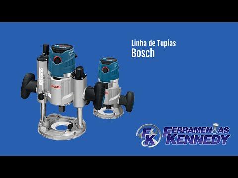 Tupia Com Base De Imersão 1600W GOF 1600 CE Bosch - 220V - Vídeo explicativo