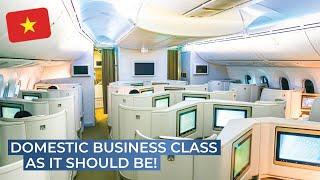 TRIPREPORT | Vietnam Airlines (BUSINESS CLASS) | Boeing 787-9 | Hanoi - Ho Chi Minh City