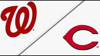 Washington Nationals vs Cincinnati Reds   Full Game Highlights   3/31/18