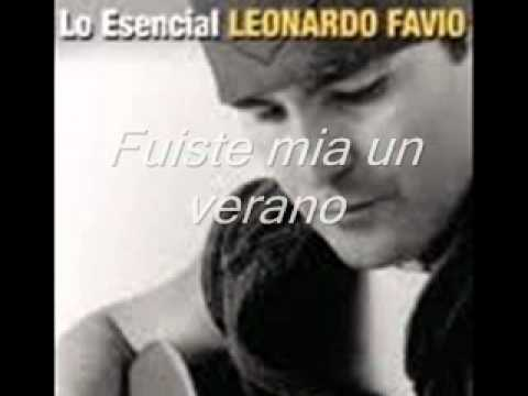 Leonardo Favio - Ella ya me olvidó - Fuiste mía un verano.♥ღ♥