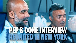 Pep Guardiola & Domènec Torrent Interview | REUNITED IN NEW YORK