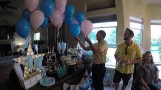 Surprise Twin Baby Gender Reveal!
