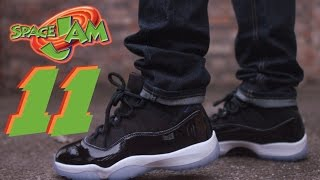 "COP OR NOT ? 2016 JORDAN 11 ""SPACE JAM"" REVIEW AND ON FOOT"