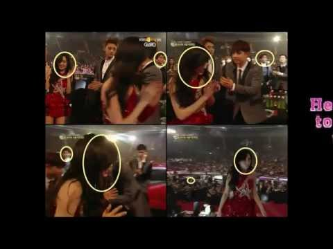 150122 BaekYeon Moments at Seoul Music Awards 2015