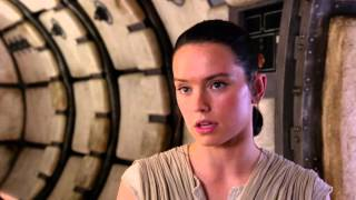 Star Wars: The Force Awakens - Daisy and John in Action   Official HD