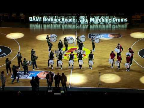 Bäm Berliner äcademy Für Marching Drums Erste Berliner Drumline