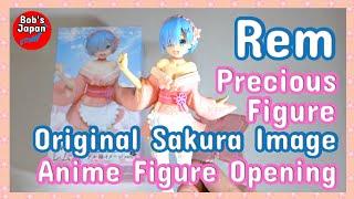 Rem Sakura Precious Anime Figure Opening