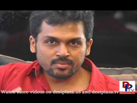 Hero Karthi Interview Stills