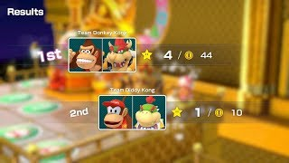 Super Mario Party Partner Party #377 Tantalizing Tower Toys DK & Bowser vs Diddy Kong & Bowser Jr
