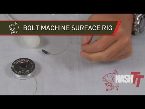 Puść film NASH TV - BOLT MACHINE SURFACE RIG TIED - RIG EVOLUTION - TYING BIG CARP RIGS IN HD - CARP RIG