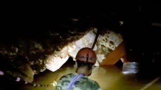 What it looks like inside the Tham Luang cave