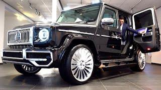 2021 Mercedes G Class | Most Luxurious G WAGON Rolls Royce Doors Hofele Design Review Interior